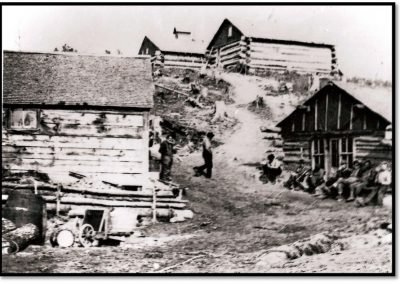 The Frank Holston Lumber Camp