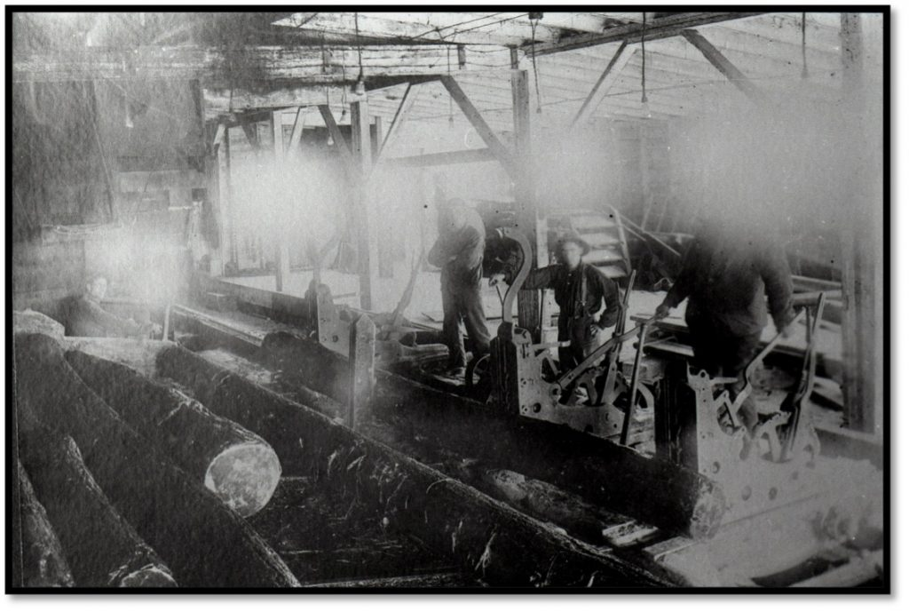 Log Feed - Carriage Operations and Millers Milling Photo BHA 1980.14.1