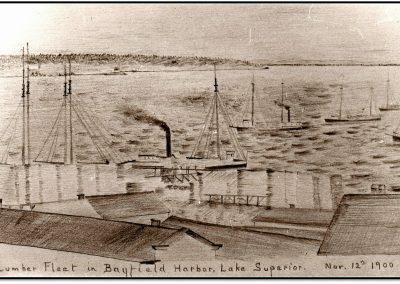 Bayfield County Log Cut – 1887