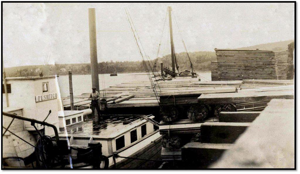 The Steamer Peshtigo Loading Plank BHA 2000.43.7