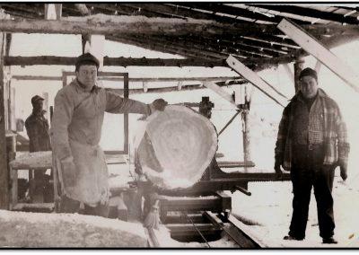 Lumber Industry in Bayfield Wisconsin