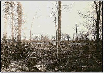 Visiting a Modern Lumber Camp – 1921