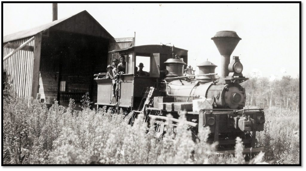 Bayfield Transfer Railroad Toonerville Trolley in Russell Township BHA 80.1.427
