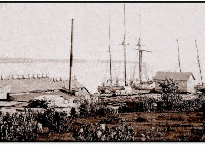 Early Vessels that Transported Lumber and Pulled Tows