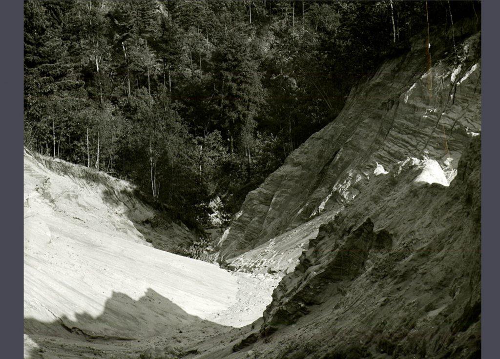 1942 Flood - Damage to Big Ravine - 1980.2.291
