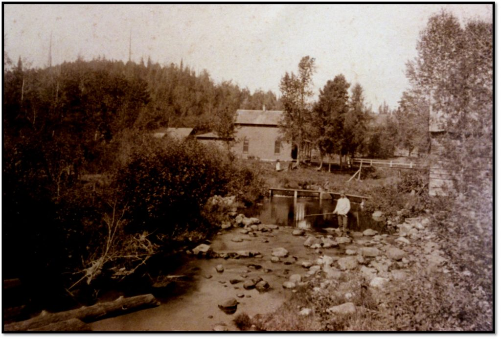 Possible Early Elisha Pikes Mill Site Ca 1890s