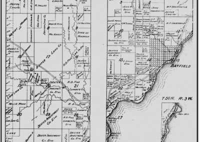 Early Farmsteads – Plat Maps Bayfield