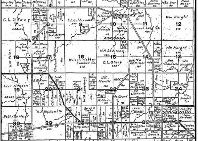 Early Farmsteads – Plat Maps Russell