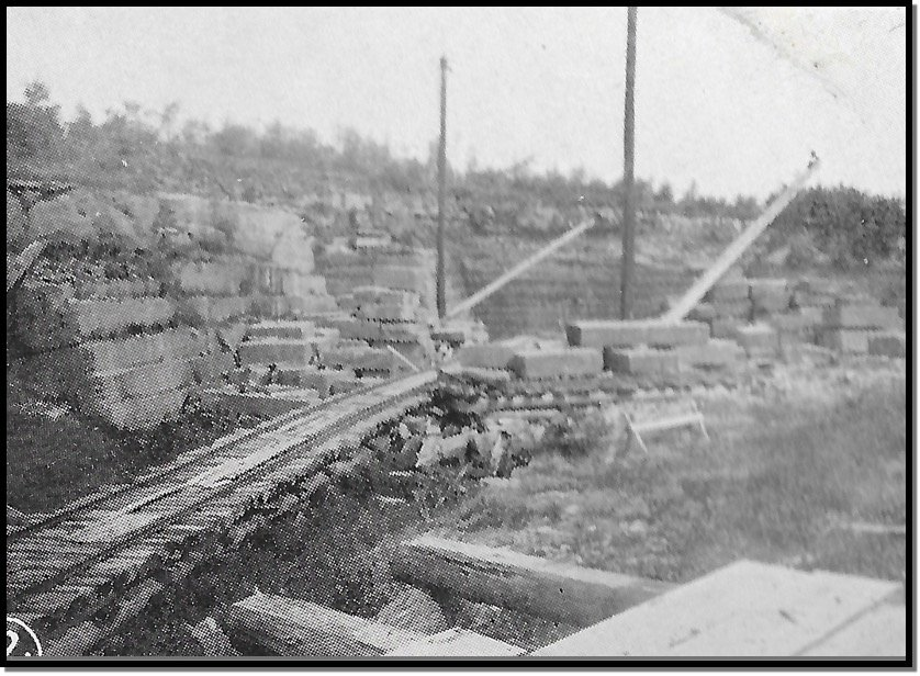 RD Pikes Quarry Photo - Building and Ornamental Stones of Wisconsin - 1898