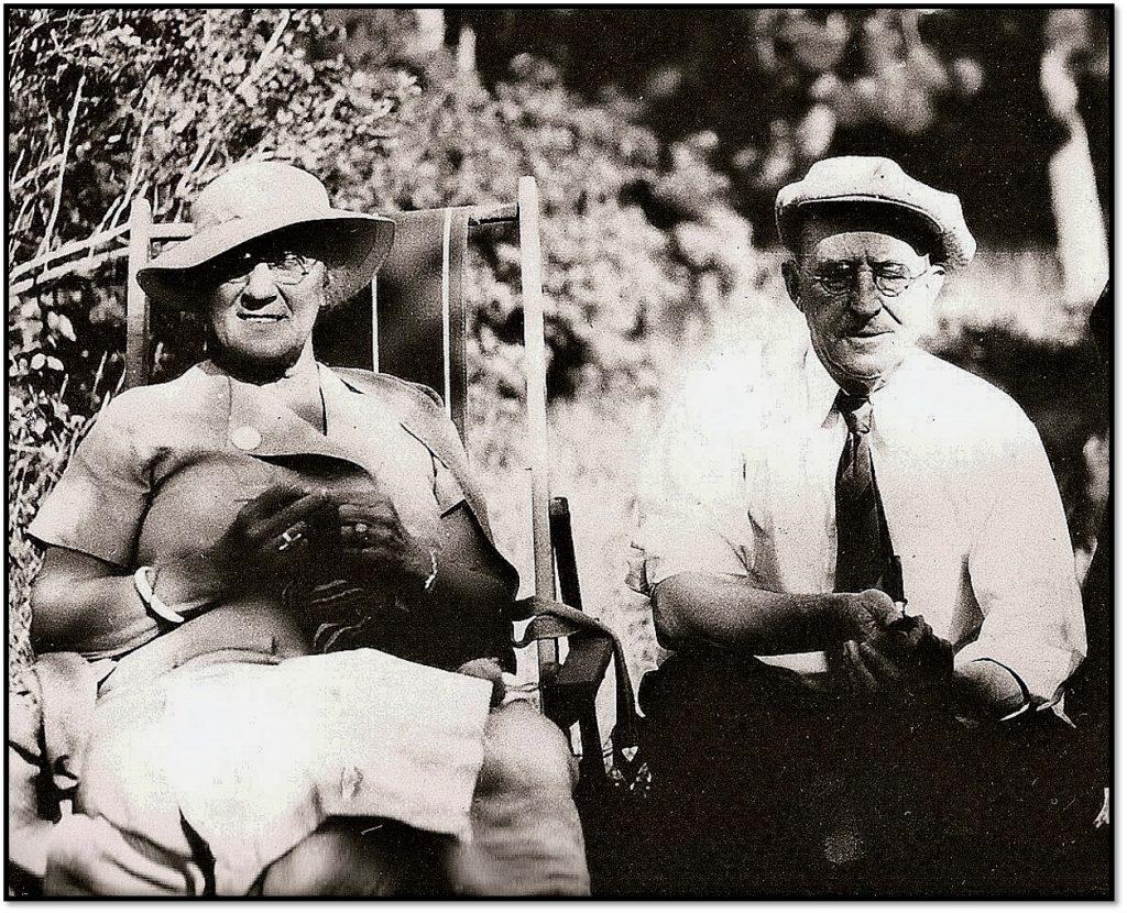 A.H. Lon Wilkenson with wife Lillian Tate - Wilkenson Photo Scott Hale