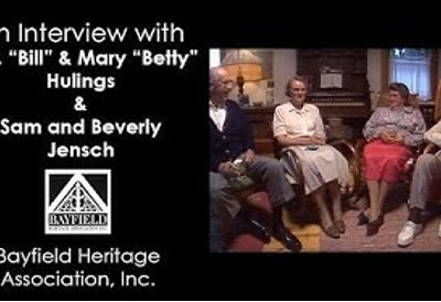"""A.D. """"Bill"""" and Mary """"Betty"""" Hulings and Sam and Beverly Jensch"""