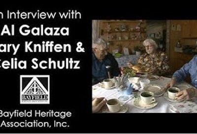 Al Galazen, Mary Kniffen and Celia Schultz