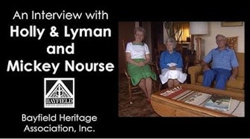 Holly, Lyman and Mickey Nordin Nourse