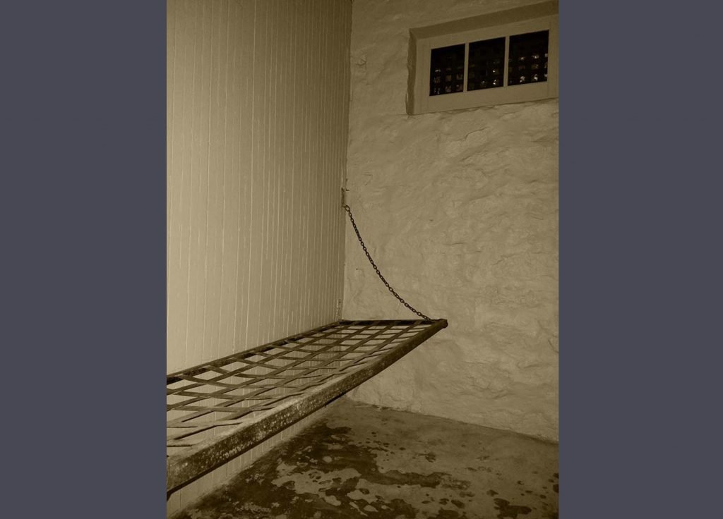 City Jail - Cot in Jail Cell
