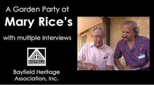 Mary Rice Garden Party – June 26, 1988